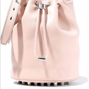 Alexander Wang Pastel Pink Leather Bucket Bag
